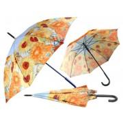 H.C.021-6802 Esernyő 100cm,Van Gogh: Napraforgók