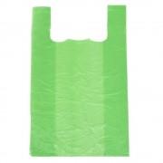 Pungi Biodegradabile Verzi 30x9x60, 50 Buc/Bax - Sacose si Plase Ecologice