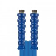 R+M de Wit 15m HD-Schlauch 1SN, DN08, blau, 3/8 Zoll Innengewinde auf 3/8 Zoll Innengewinde