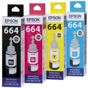 Original 75ml INK Bottles for EPSON set L100 L110 L200 L210 Printer Ink with Reset Codes