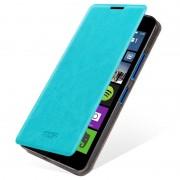 Capa com Cobertura Mofi Rui Series para Microsoft Lumia 640 Dual SIM, Lumia 640 LTE - Azul