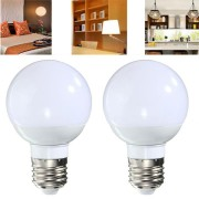 Non-Dimmable E27 4W 10 SMD 5730 LED Pure White Warm White Light Lamp Bulb AC85-265V