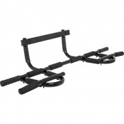 Gorilla Sports Multifunktions-Pull-up-Bar (schwarz)