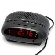 Радио с часовник Diva FM/AM Alarm Clock, Черно, DWFMAM