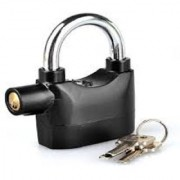 Swaggers security alarm siren lock for safety