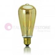 Perenz Srl Lampadina Attacco E27 A Led Vintage Con Filamento