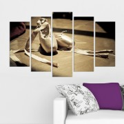 Декоративен панел за стена с балетни пантофки Vivid Home