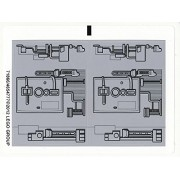 "Lego Original Sticker Sheet For Star Wars Set #9495 ""Gold Leaders Y Wing Starfighter"""