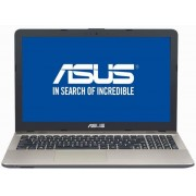 "Laptop ASUS VivoBook Max X541NA-GO170 (Procesor Intel® Celeron® Dual Core N3350 (2M Cache, up to 2.4 GHz), Apollo Lake, 15.6"", 4GB, 128GB SSD, Intel HD graphics 500, Endless OS, Negru ciocolatiu) + Geanta Laptop Dicallo LLM0314 15.6"" (Neagra)"