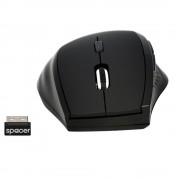 MOUSE SPACER WIRELESS 6D SPMO-291 BLACK