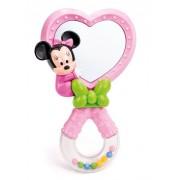 Clementoni zvečka Minnie Mouse s ogledalom