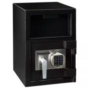 テンキー式 投入金庫 26.6L デポジタリーセーフ オフィス収納 保管庫 オフィス家具