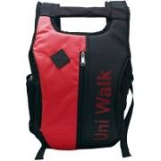 UNI WALK Nylon Multi Pocket Unisex Orange Shoulder Backpacks Bag - PINK/ORANGE Backpack(Multicolor, 20 L)