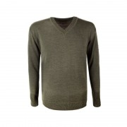 Kama Fashion&Function Kama Fish&Hunt Sweater van 50% merino wol groen L4104