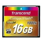 Transcend - card memorie 16GB Compact Flash 1000x