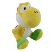 Little Buddy Toys Little Buddy Toys Nintendo Official Super Mario Yoshi Plush6 Yellow by Little Buddy Toys