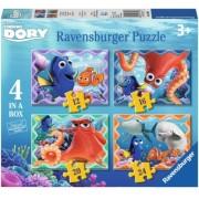 Puzzle In Cautarea Lui Dory, 12/16/20/24 Piese Ravensburger