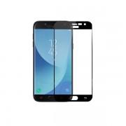 Geam Folie Sticla Protectie Display Samsung Galaxy J5 / J530 Acoperire Completa Neagra 6D