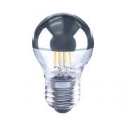 Bec LED Flair E27 3W 300 lumeni, glob cu oglinda G45, lumina calda