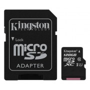 Unbranded Kingston 128gb microsdxc canvas select 80r cl10 uhs-i card+sd ad