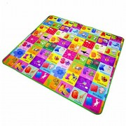 Baby Playmat, Denpetec Soft Educational 2 Side Kids Crawling Play Mat, Infant Baby Playing Crawling Rug Carpet (200x180cm)(1.21.8m)