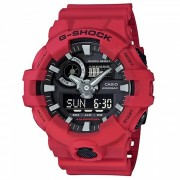 reloj digital casio g-shock GA-700-4A-rojo