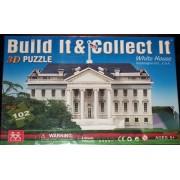 Build It & Collect It 3d Puzzle - The White House