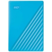 WD My Passport 4 TB External Hard Disk Drive(Blue, Black)