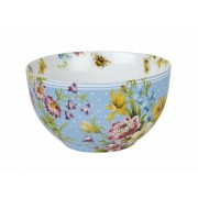 C.T.CB3671 Porcelán müzlistálka English Garden,Blue Spot