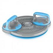 Klartwist Power Twister 3-em-1 Placa de Equilíbrio Barra Horizontal Push Ups Azul