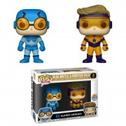 Pachet Funko POP DC: Beetle Blue și Gold Booster (CC)