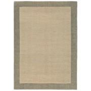 benuta NATURALS Alfombra de lana Moorland Beige 160x230 cm - Alfombra natural para dormitorio y salon