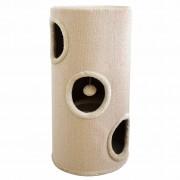 vidaXL Căsuță pentru pisici din sisal bej 70 cm