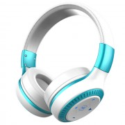 ZEALOT B20 Over-ear Bluetooth Headphone Foldable Headset with Mic - White / Blue
