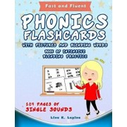 Phonics Flashcards with Pictures and Blending Words, Paperback/Lina K. Lapina