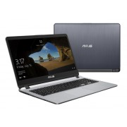 "NB Asus X507MA-EJ314, siva, Intel Pentium N5000 1.1GHz, 1TB HDD, 4GB, 15.6"" 1920x1080, Intel UHD 605, 24mj, (90NB0HL1-M05820)"