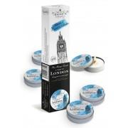 Petits Joujoux London - masszázsgyertya szett - 5db (rebarbara-ámbra)