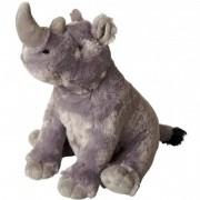 Geen Knuffel neushoorn grijs 30 cm knuffels kopen
