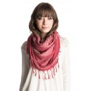 Dámský kruhový šátek Jena Roxy červený