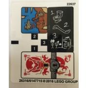 stk70591 Autocolant LEGO Ninjago 70591
