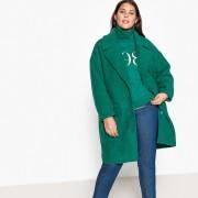 Manteau mi-long, 44% laine, fermeture boutonnée