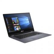 "ASUS VivoBook Flip TP412FA-EC199T Intel i5-8265U 14.0"" FHD Touch UMA 8GB 512GB SSD WL Cam Win10 CS šedý"