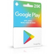 Google Play Card 25 Euro Guthaben