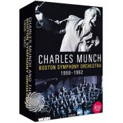 Video Delta Charles Munch and The Boston Symphony Orchestra - 1958/1962 - DVD