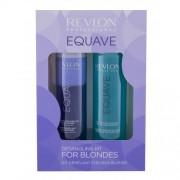 Revlon Professional Equave Instant Detangling Blonde Hair подаръчен комплект балсам за коса без отмиване 200 ml + мицеларен шампоан 250 ml за жени