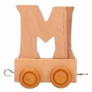 Merkloos Trein met de letter M