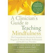 A Clinician's Guide to Teaching Mindfulness: The Comprehensive Session-By-Session Program for Mental Health Professionals and Health Care Providers, Paperback/Christiane Wolf