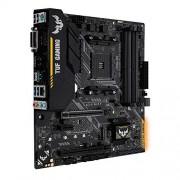 Asus TUF B450M-Plus gaming moederbord socket AM4 (mATX, AMD B450, DDR4-geheugen, M.2, native USB 3.1 Gen2, Aura Sync)