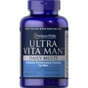 vitanatural ultra man - timed release -multivitamine - 90 tabletten