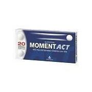 ANGELINI SpA Momentact 400 Mg Compresse Rivestite Con Film 20 Compresse